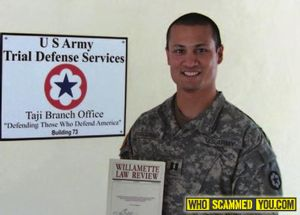 U.S. Army Lawyer Matthew Fitzgerald – Promoted Only By Corruption!