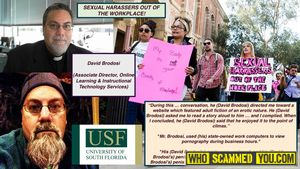 Sexual harassment and pornography-viewing on work computers during work hours is a matter not to be ignored, USF!