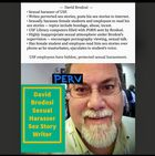 Scam - David Brodosi of USF: Sexual Harasser, Sex Story Writer