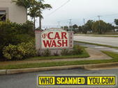 Scam - The $3.50 Car Wash that Destroys your Car
